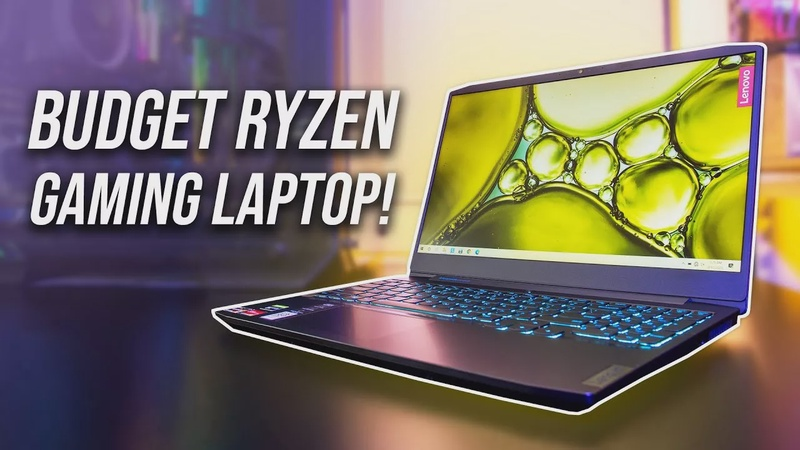 Lenovo IdeaPad Gaming 3 - Budget Ryzen Laptop Review