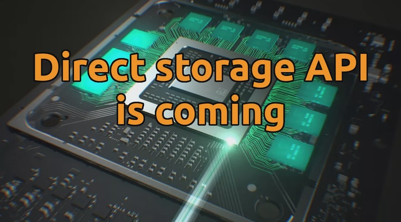 How A Console Could BEAT Your PC. Direct storage API