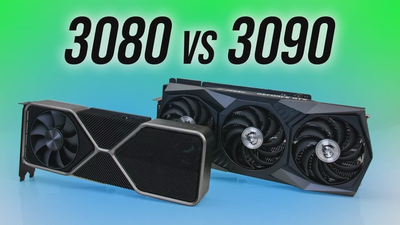 RTX 3080 vs 3090 - What Does 2x Price Get You?
