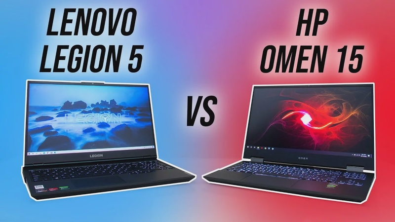 Lenovo Legion 5 vs HP Omen 15 Comparison - Which Ryzen Gaming Laptop?