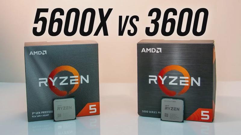 AMD Ryzen 5 5600X vs 3600 CPU Comparison - Worth Upgrading?