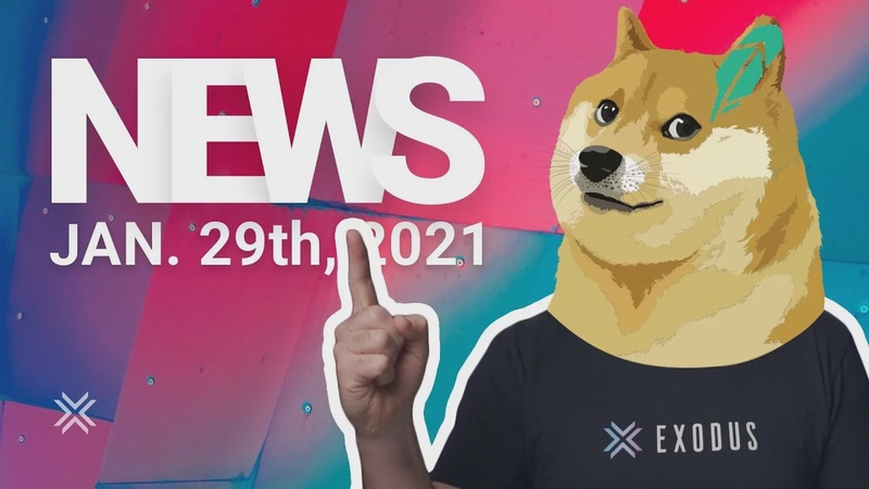 Crypto News, Robinhood, WallStreetBets buys GME, Dogecoin to the Moon