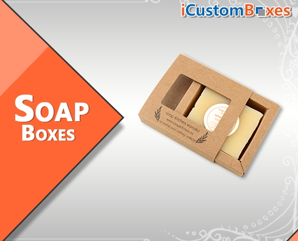 40% Sale on Custom Soap Boxes With Free Shipping