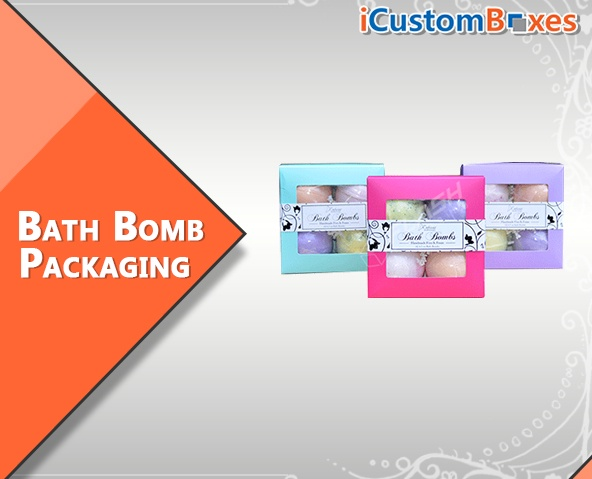 Get Attractive Printed Packaging Bath Bombs Wholesale