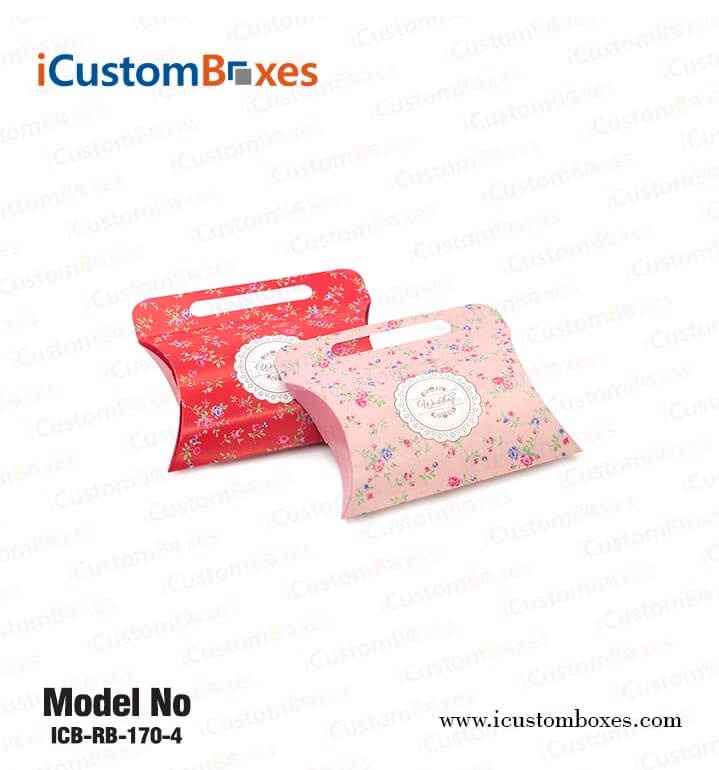 Buy Custom Pillow Boxes Wholesale With Free Shipping
